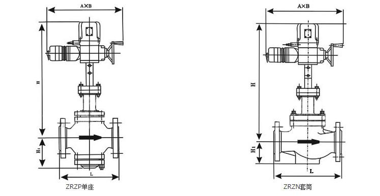 智能型电动调节阀